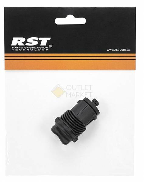 Запчасти для амортизационной вилки RST регул-р жесткости д/ноги 30мм для OMEGA 26 series пластик черный RST 1-0907